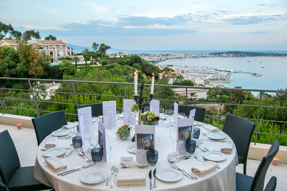 Cannes 2014 dinner table view