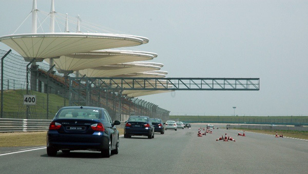 China F1 race track