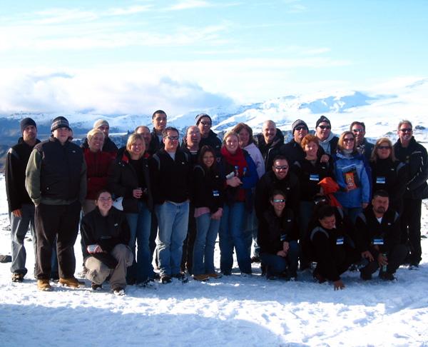Iceland Group Photo