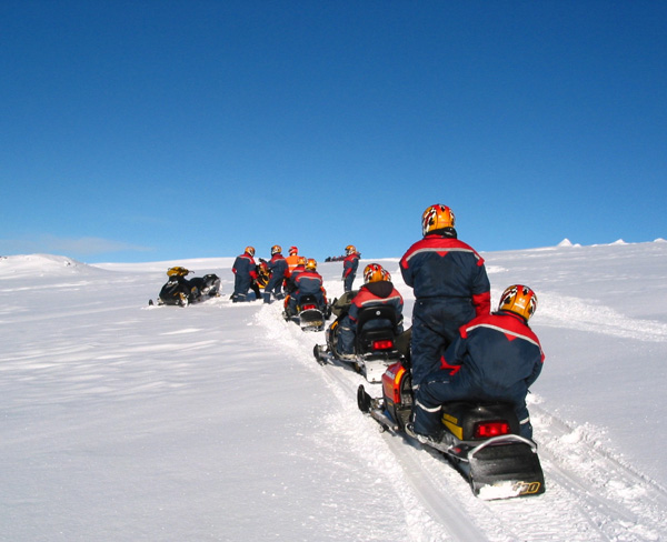 Iceland Snowmobiling