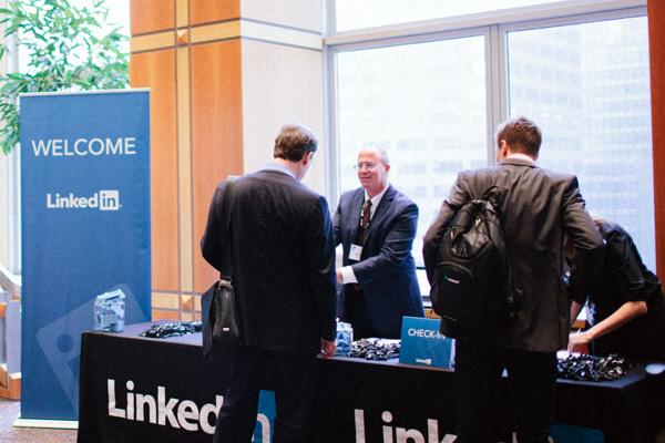 LinkedIn Wrap Party