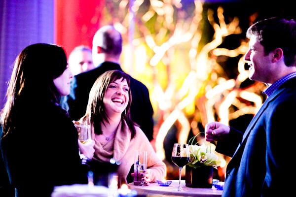Manhattan reception