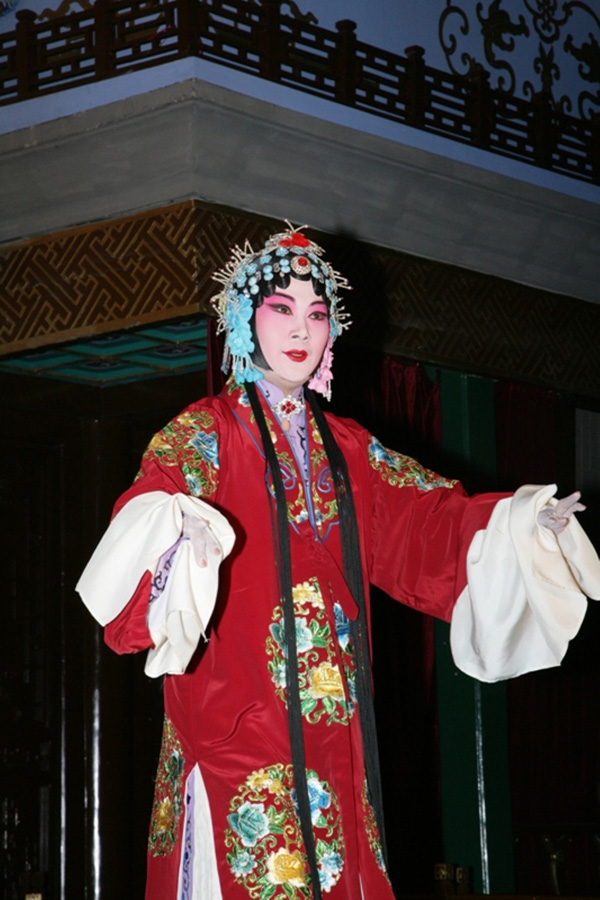 Peking opera singer in Beijing